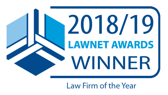 MBM Commercial wins Law Firm of the Year at the 2018/2019 LawNet Awards