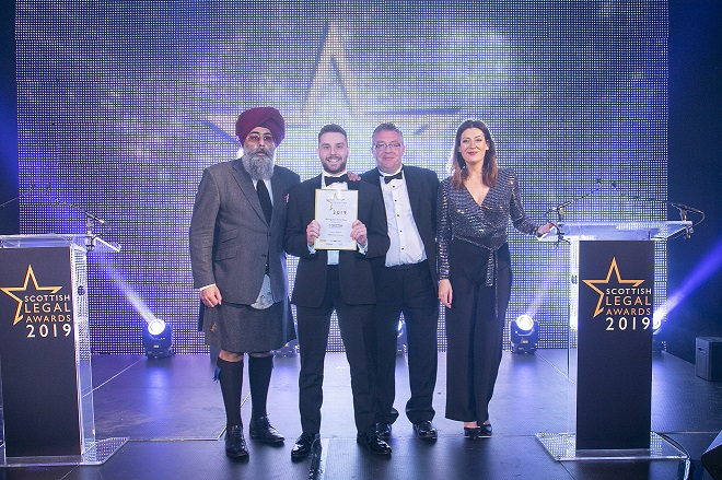 MBM Commercial's Jamie Apted Wins at Scottish Legal Awards 2019