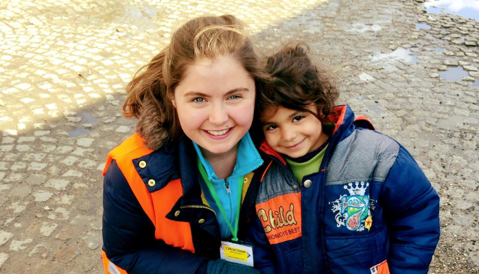 Volunteering with Syrian Refugees